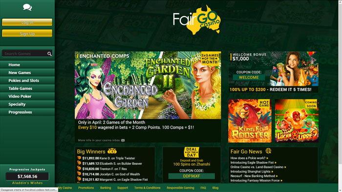 Fair Go Homepage