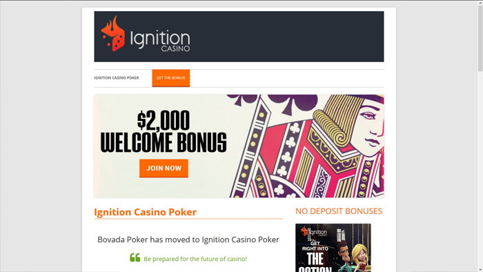 Ignition Homepage