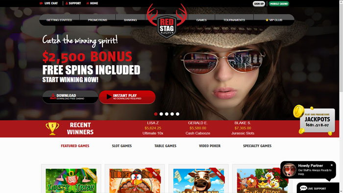 Red Stag Homepage