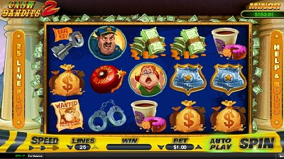 Cash Bandir Slot Machine RTG