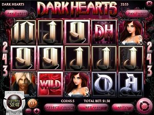 Dark Heart Slot Machine