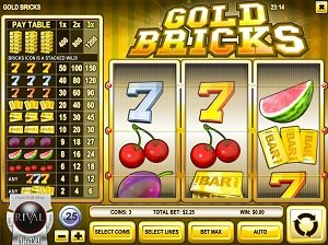 Gold Bricks Slot Machine