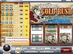 Gold Rush Slot Game